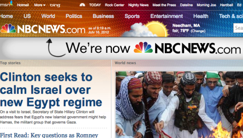MSNBC.com Becomes NBCNews.com After Comcast Takes Over