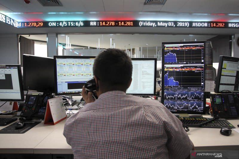 IHSG terkoreksi di tengah naiknya bursa saham Asia