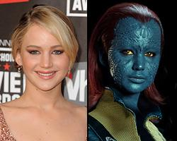 Jennifer Lawrence Transforms Herself for 'X-Men: First Class'