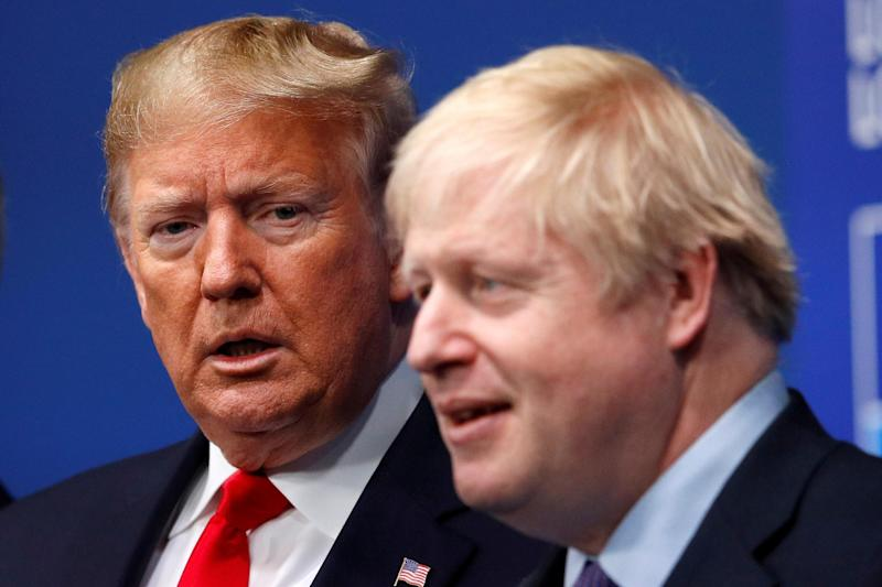 Boris Johnson defied repeated warnings from Donald Trump to rule that Huawei could play a role in the UK's 5G network: REUTERS