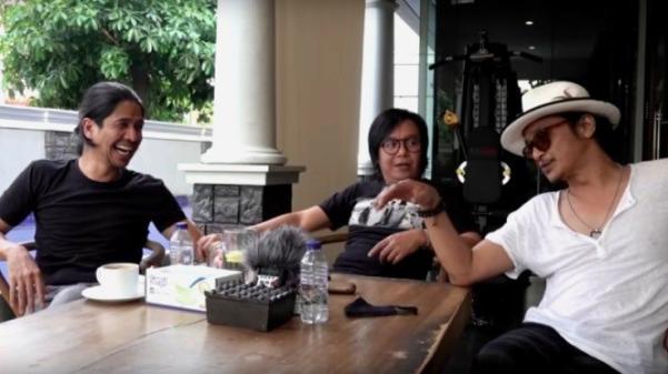 Obrolan Ari Lasso, Andy /rif dan Aryo Wahab