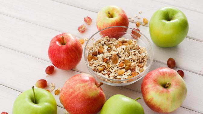 Ilustrasi oatmeal | iStockphoto