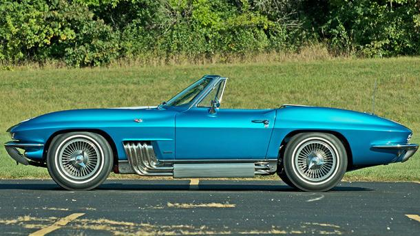 Harley Earl's custom Corvette Sting Ray runs to auction — and a potential record