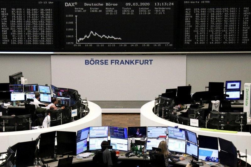 Saham Jerman hapus kerugian dengan indeks DAX 30 terangkat 1,64 persen