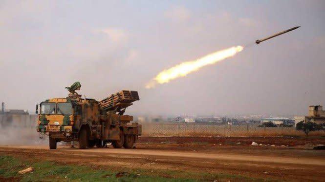 Militer Turki dan Tentara Bayarannya Serang Suriah