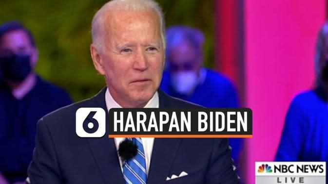 VIDEO: Joe Biden Berharap Donald Trump Sampaikan Pesan Tentang Covid-19 yang Benar