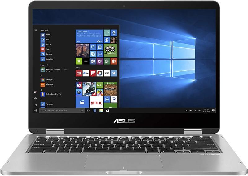 "ASUS VivoBook Flip 14 Thin and Light 2-in-1 Laptop, 14"". Image via Amazon."