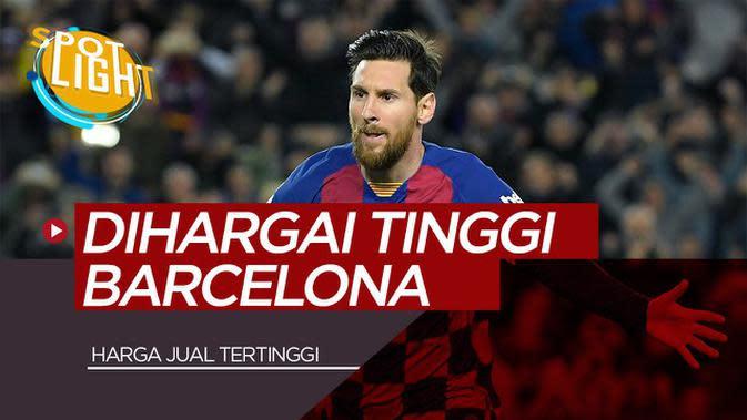VIDEO: Lionel Messi dan 4 Pemain yang Dihargai Tinggi Barcelona