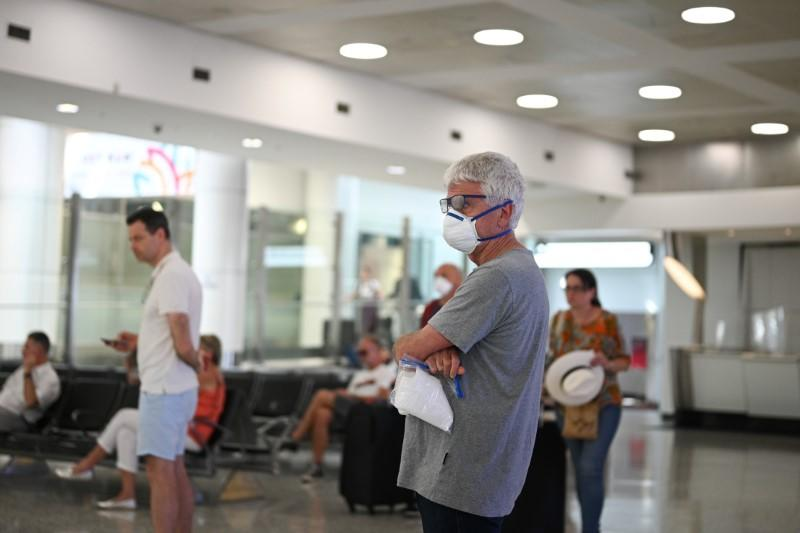 The international arrivals area at Kingsford Smith International Airport is seen after Australia implemented an entry ban on non-citizens and non-residents due to the coronavirus disease (COVID-19) in Sydney