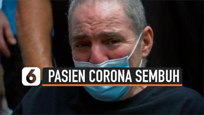 VIDEO: Berjuang 128 Hari Lawan Corona, Kakek 64 Tahun Sembuh