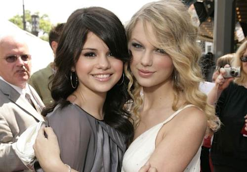 Selena Gomez and Taylor Swift -- Getty Images