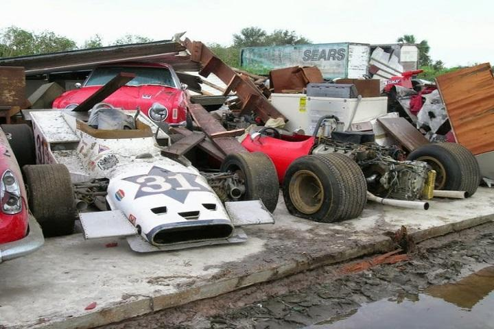 Weep At The Sight Of These Abandoned Race Cars