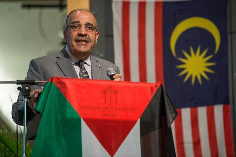 Yesterday, a group of Malaysian NGOs told Palestine ambassador to Malaysia Walid Abu Ali to apologise for his statements. — Bernama pic