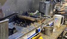 撐港餐廳「保護傘」遭惡意潑糞 時力群起譴責籲嚴懲