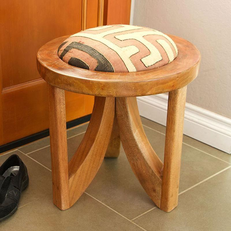 """<p><strong>Jungalow</strong></p><p>jungalow.com</p><p><strong>$199.00</strong></p><p><a href=""""https://www.jungalow.com/collections/furniture/products/mahogany-triad-stool"""" target=""""_blank"""">Shop It</a></p><p><a href=""""https://www.instagram.com/justinablakeney/"""" target=""""_blank"""">Justina Blakeney</a> is a designer, best-selling author, and artist based in Los Angeles. Her name has become eponymous with bohemian interiors, and her home decor brand, <a href=""""https://www.jungalow.com/"""" target=""""_blank"""">Jungalow</a>, alongside collaborations with <a href=""""https://www.anthropologie.com/search?q=justina%20blakeney"""" target=""""_blank"""">Anthropologie</a>, <a href=""""https://inspiration.fabricut.com/jungalow-collection-by-justina-blakeney-for-fabricut"""" target=""""_blank"""">Fabricut</a>, <a href=""""https://www.loloirugs.com/collections/justina-blakeney"""" target=""""_blank"""">Loloi Rugs</a>, and others, reflect her creative, colorful, and plant-filled style.</p><p> From accent pillows to wallpaper, Jungalow's designs are sure to inspire the bohemian in your life. Plus, for every product purchased on Jungalow, two trees are planted through <a href=""""https://trees.org/"""" target=""""_blank"""">Trees for the Future</a>, which works to provide families with sustainable food sources, livestock feed, fuel wood, and a 400 percent increase in their annual income in four years. </p>"""