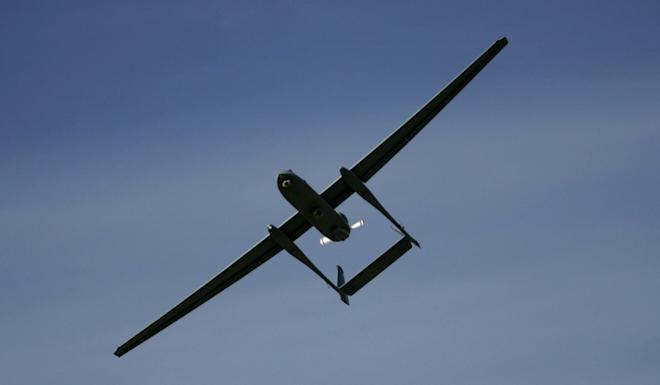 The Heron is an 8.5-metre medium-altitude long-endurance combat UAV used by the Indian Army. Photo: AP