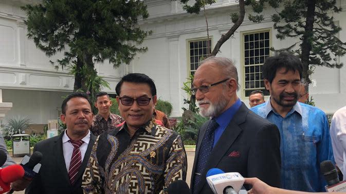 Bertemu Eks Petinggi GAM, Jokowi Bahas MoU Helsinki