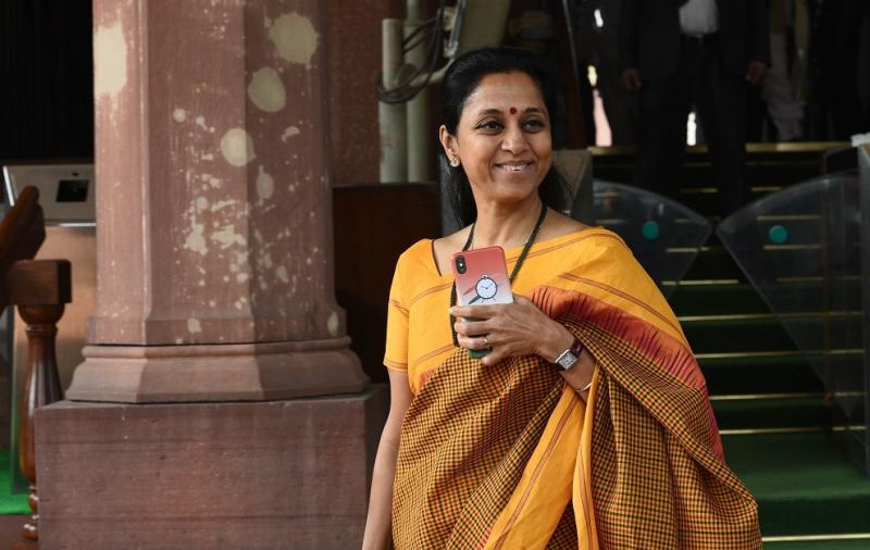 Supriya Sule (Photo by Vipin Kumar/Hindustan Times via Getty Images)