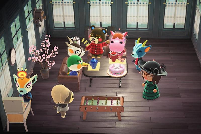 Animal Crossing New Horizons Get Together