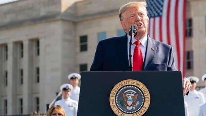 Ahli Kesehatan Ingatkan Donald Trump: COVID-19 Adalah Ancaman