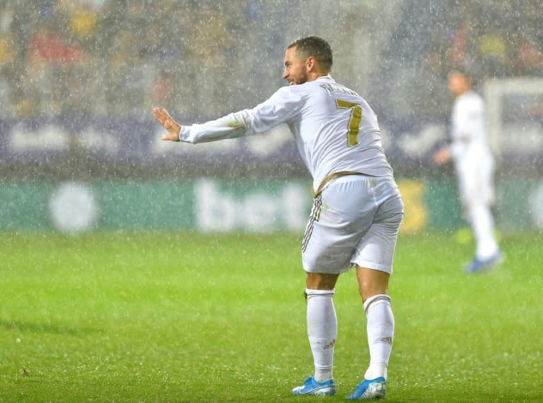 Eden Hazard dazzled in Real Madrid's 4-0 win over Eibar on Saturday