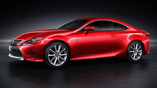 Lexus RC sports coupe mixes up its design time
