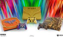 微軟做了三台《神力女超人》主題的限定 Xbox One X