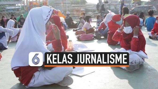 VIDEO: Cegah Anak Bosan di Tengah Pandemi, Wartawan Buka Kelas Jurnalisme Gratis
