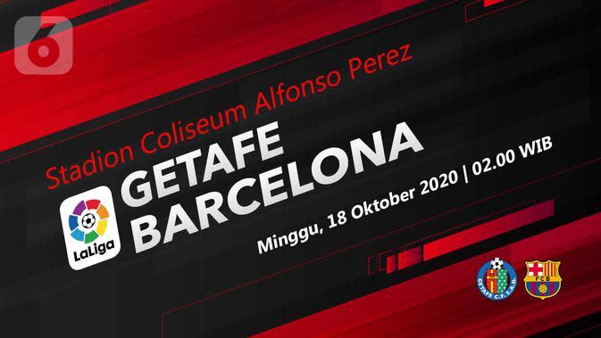 Getafe vs Barcelona (Liputan6.com/Abdillah)
