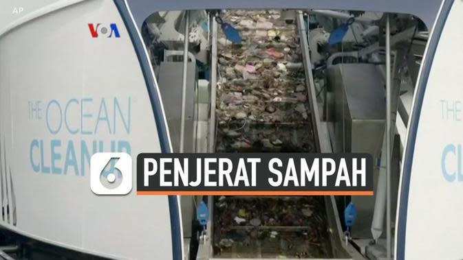 VIDEO: Pemuda Belanda Ciptakan Kapal Penjerat Sampah