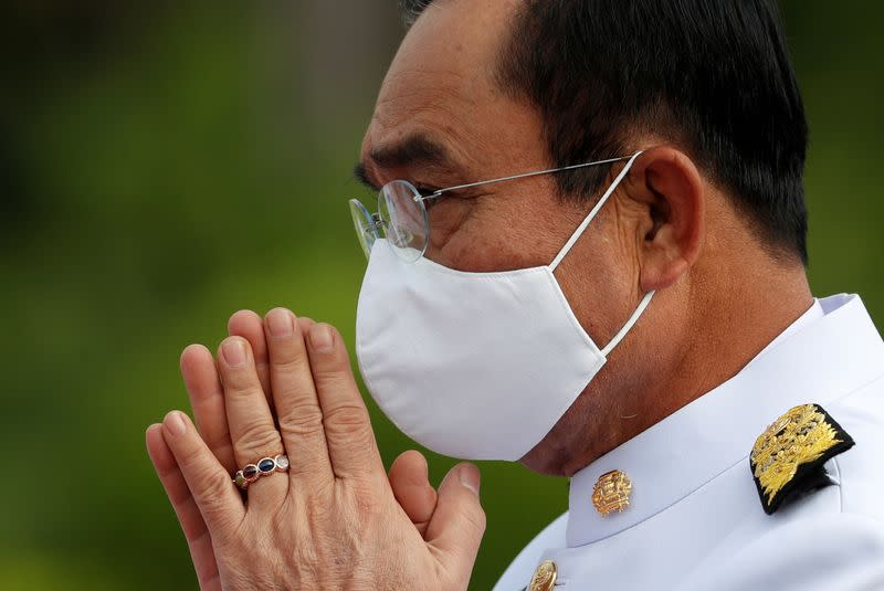 'COVID first': Thai PM warns protesters against raising virus risks