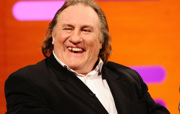 "Gerard Depardieu ""now Russian citizen"""