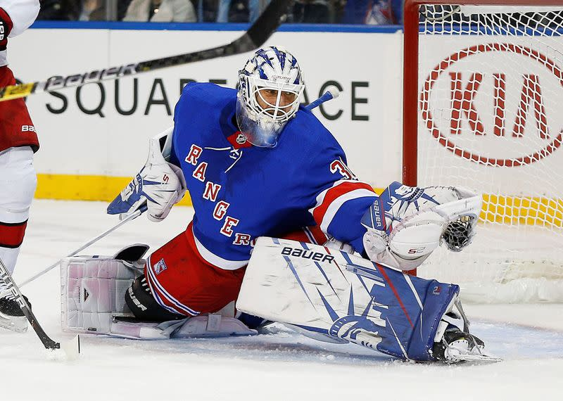 Lundqvist's New York reign over, Rangers buy out goalie's contract