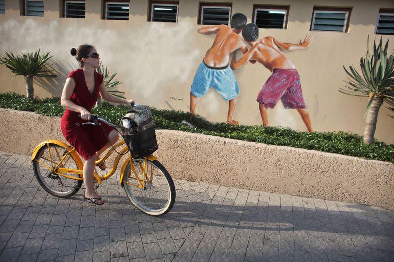 Tel Aviv erases 'Peeping Toms' beach mural after suspected gang rape