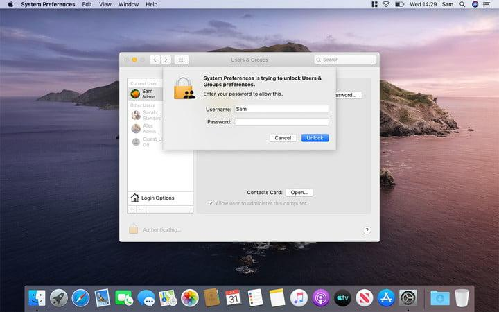 How to delete a user on a Mac