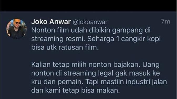 Joko Anwar (Foto: Instagram/@jokoanwar)