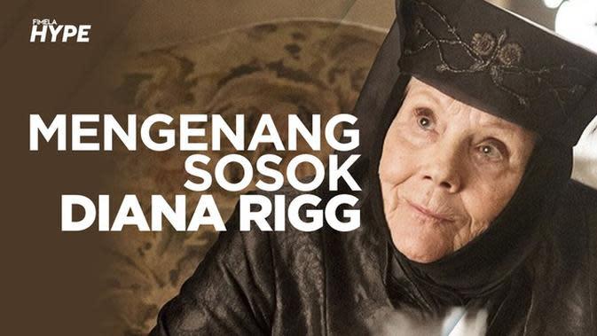Mengenang Diana Rigg, Bintang Game of Thrones yang Meninggal Dunia karena Kanker