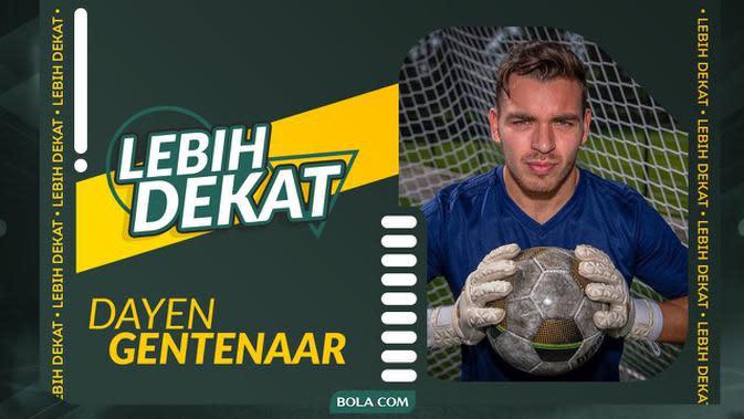 VIDEO: Lebih Dekat dengan Dayen Gentenaar, Anak Eks Kiper Borussia Dortmund yang Ingin Bela Timnas Indonesia