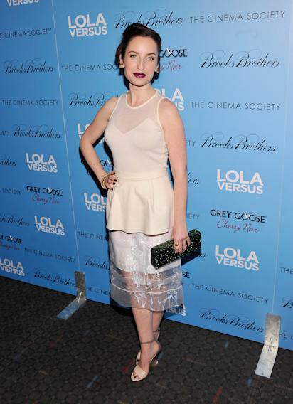 "The Cinema Society & Brooks Brothers With Grey Goose Host A Screening Of ""Lola Versus"" - Arrivals"