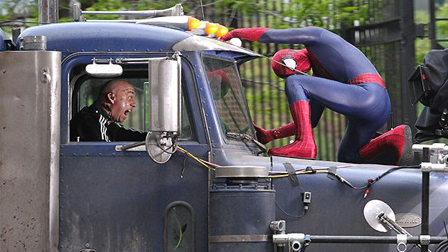 'The Amazing Spider-Man 2′: Set Pics Reveal Paul Giamatti as a Rampaging Rhino
