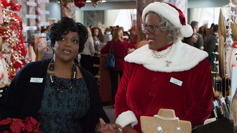 It's Perry vs. Larry in Exclusive Trailer for 'A Madea Christmas'