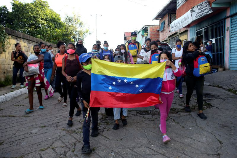 Despite COVID-19, new wave of Venezuelan migrants heads to Colombia