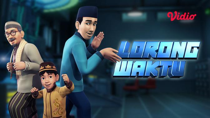 Lorong Waktu animasi diadaptasi dari serial dengan judul yang sama.