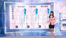 北台灣雨區曝光!明日恐現16度低溫