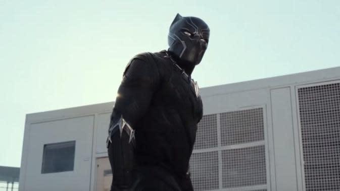 Black Panther di Captain America: Civil War. (Marvel Studios)
