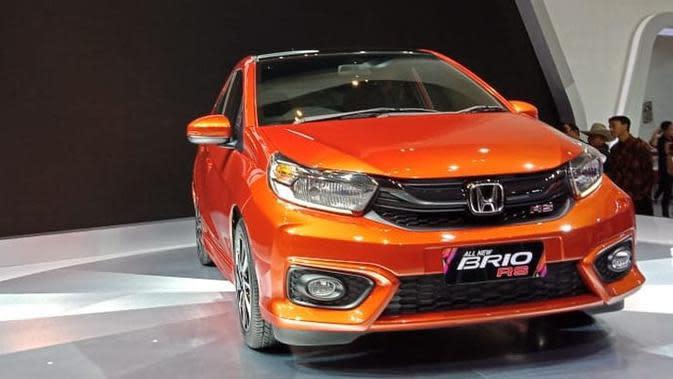 All New Honda Brio hadir dengan sosok baru tanpa adanya perubahan mesin. (Arief A/Liputan6.com)