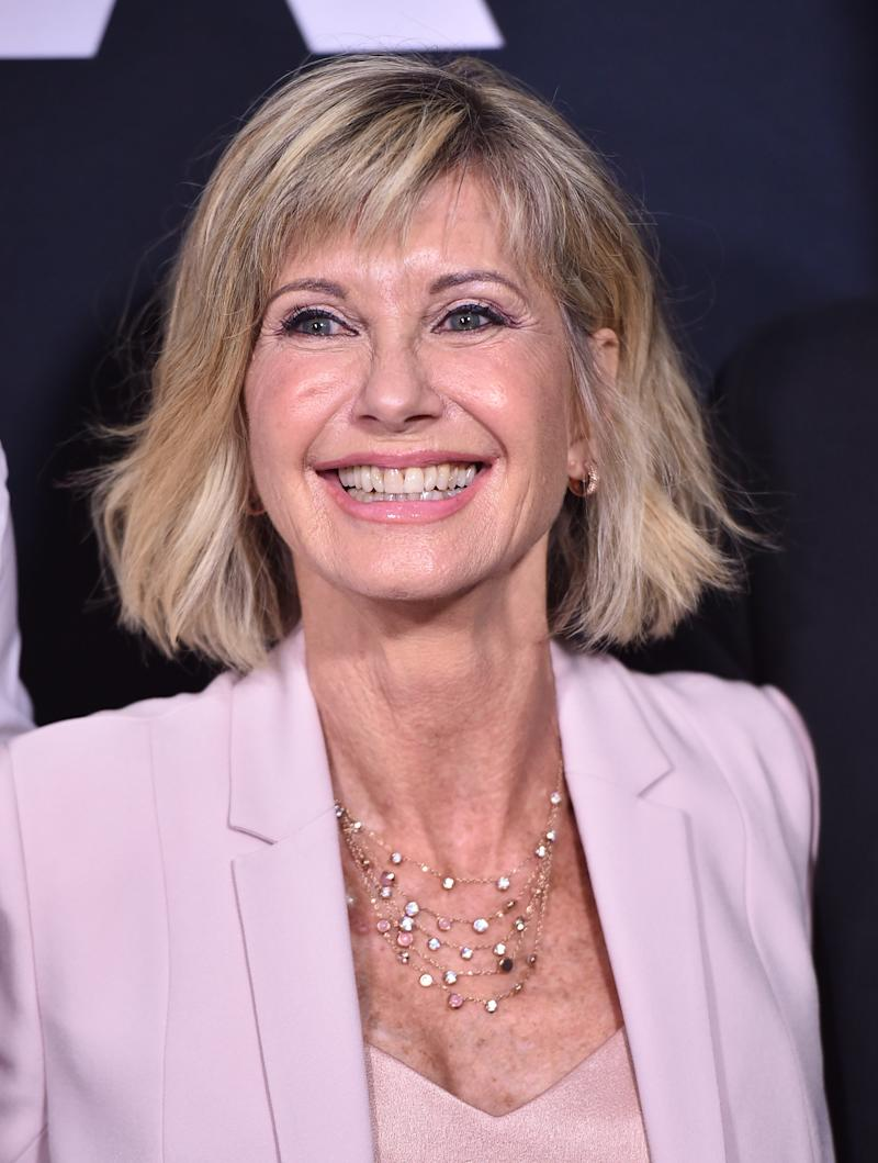 Olivia Newton-John attends the Academy Presents 'Grease' 40th Anniversary at the Samuel Goldwyn Theater on August 15, 2018 in Beverly Hills, California