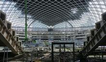 大巨蛋11月封頂 年底擺脫爛尾樓外觀