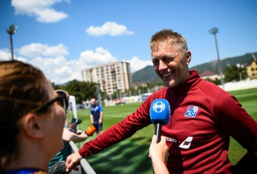Iceland coach Heimir Hallgrimsson nearly lost a laptop containing 20 years work