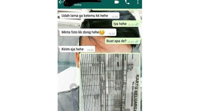 5 Chat Minta 'Pap' Ini Bikin Geleng Kepala Sekaligus Geregetan (sumber: Instagram.com/awreceh.id)